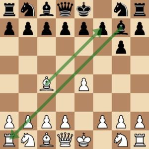 bishop in center vs fianchetto bishop