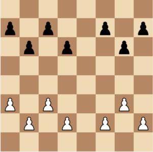 2 pawn islands