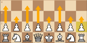 pawn first move