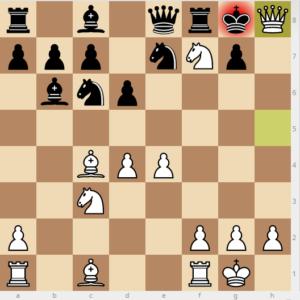 2 - evans gambit Bb6 9 ne7