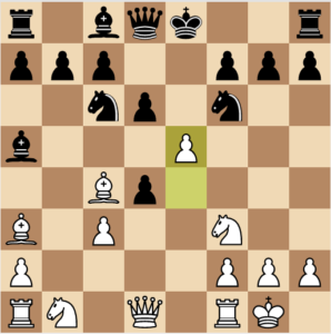 evans gambit 7 nf6 variation move 9