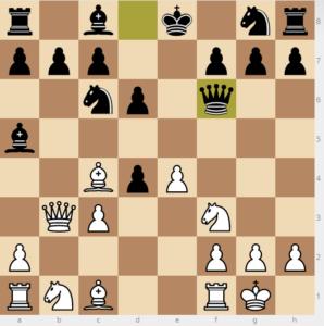 evans gambit Ba5 d6 variation move Qf6
