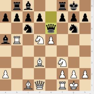 evans gambit dxc3 variation 17 Rb8