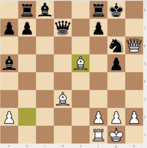 evans gambit dxc3 variation 26bxe5