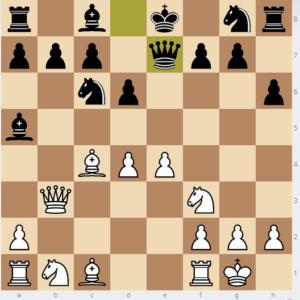 mistake h6 Qe7 move