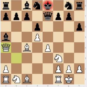 mistake h6 d5 qa4 move