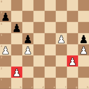 backwards pawn