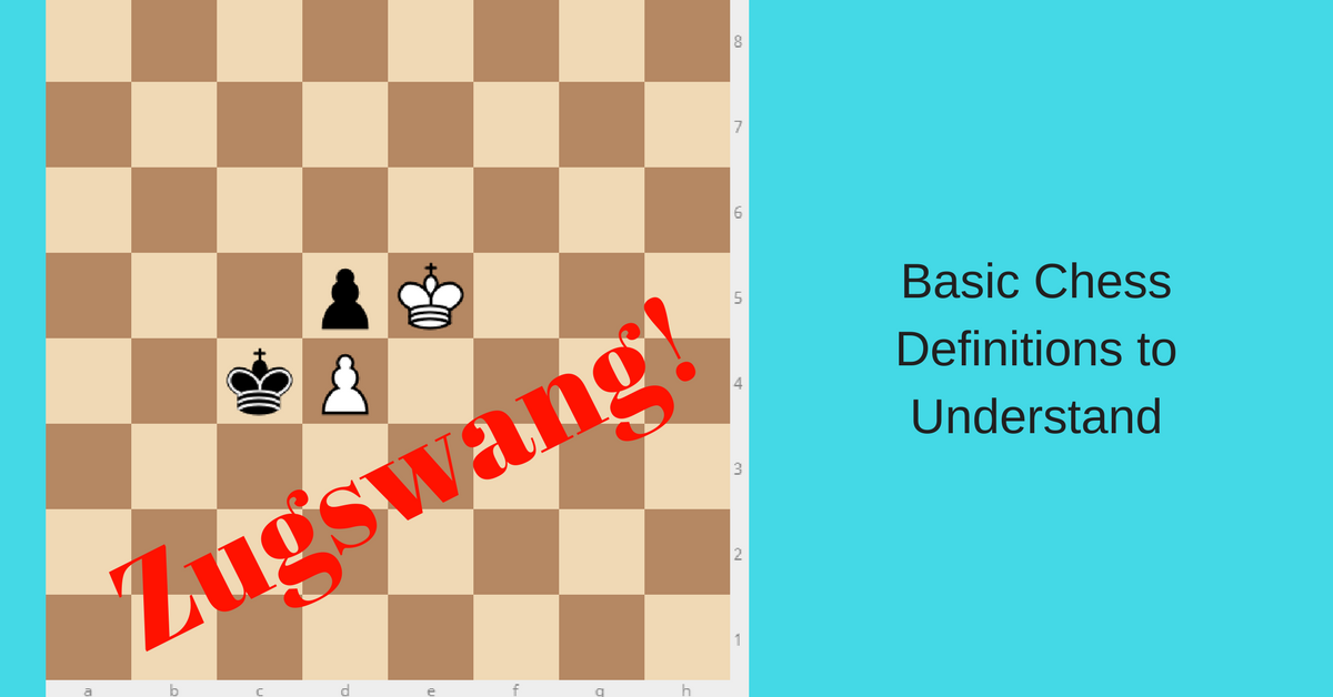 basic chess definitions and terms