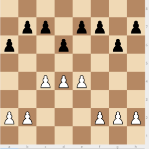 king's indian pawn structure