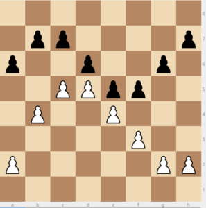 pawn ideas in petrosian king's indian