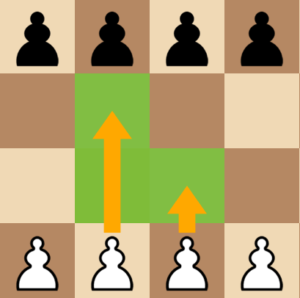 how pawns move