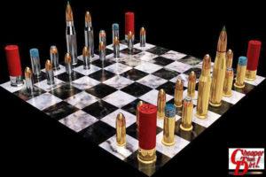 weird chess set