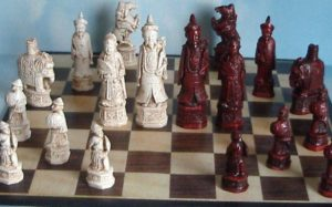 old chess set