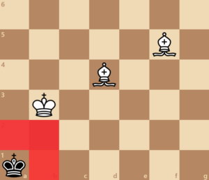 checkmate with 2 bishops