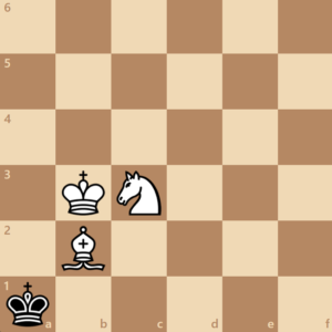 checkmate with bishop and knight