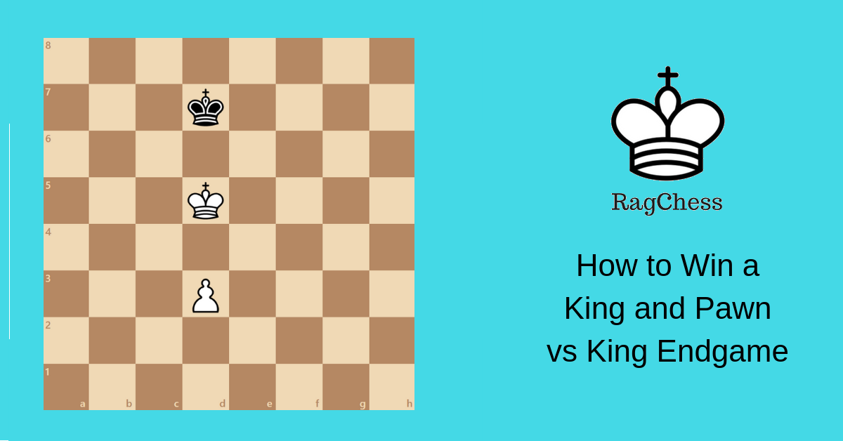 king and pawn vs king ending