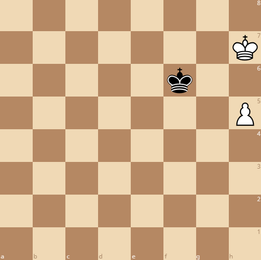 rook pawns are usually drawn