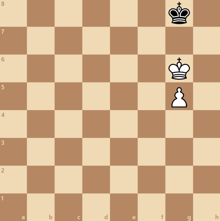 stalemate with a king and pawn
