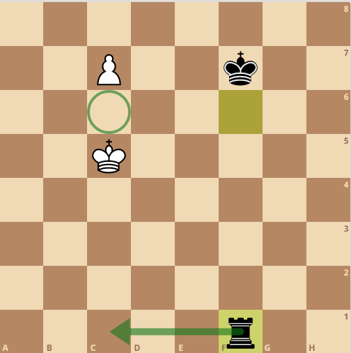 rook vs pawn