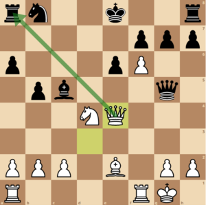 Najdorf-Polugaevsky-game-1-bishop-diagonal
