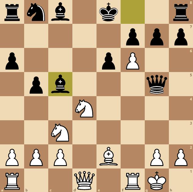 Najdorf-Polugaevsky-game-4-bc5