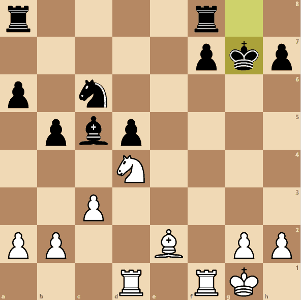 Najdorf-Polugaevsky-game-1-blunder