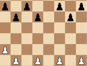 4 pawn islands