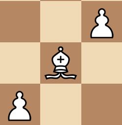 end game bishop