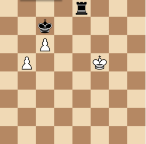rook isolating king in endgame