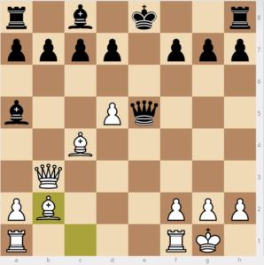 Bobby Fischer vs Reuben Fine evans gambit 7 dxc3 variation bb2