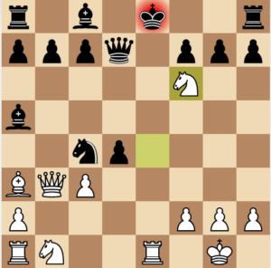 evans gambit 7 nf6 variation move 14 variation