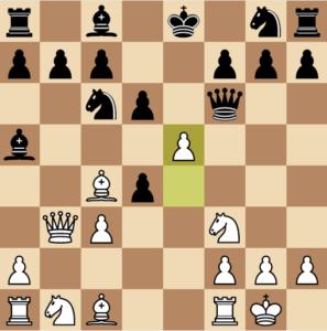 evans gambit Ba5 d6 variation move 9 e5