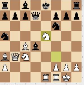evans gambit Bb6 main 9 nf6 if Bxd4