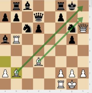 evans gambit dxc3 variation 23 bb2