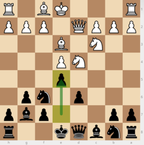dont play e5 in sicilian dragon