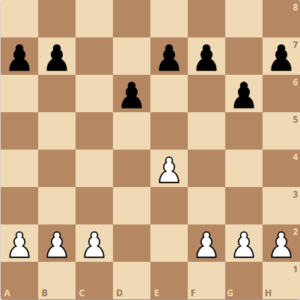 pawn structure of the sicilian dragon