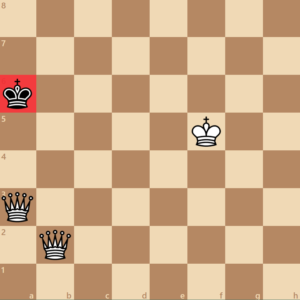 2 queen checkmate