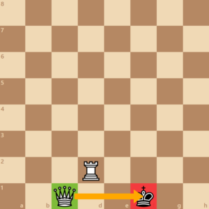 checkmate queen and rook