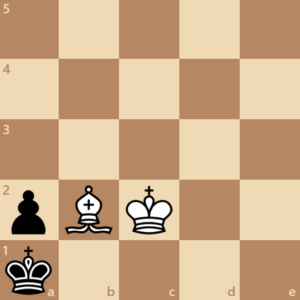 checkmate with 1 bishop