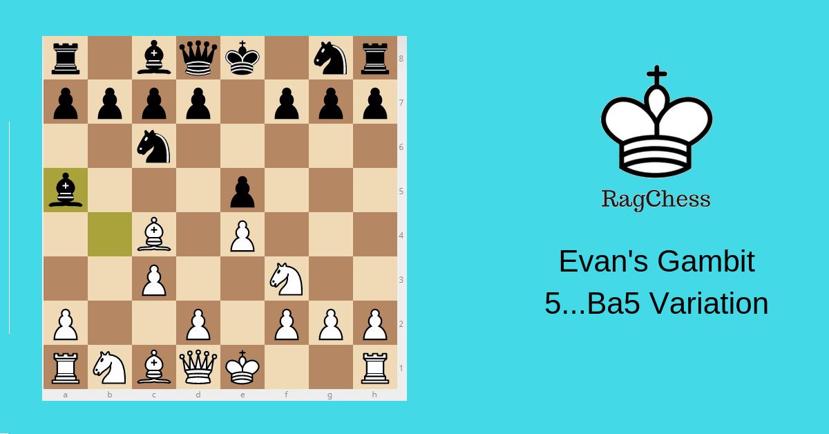 Evans Gambit Ba5 variation