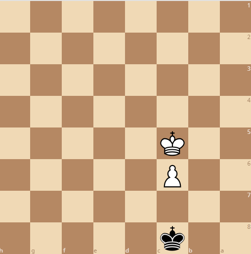 white wins by giving up opposition