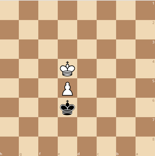black's mistake leads to a loss