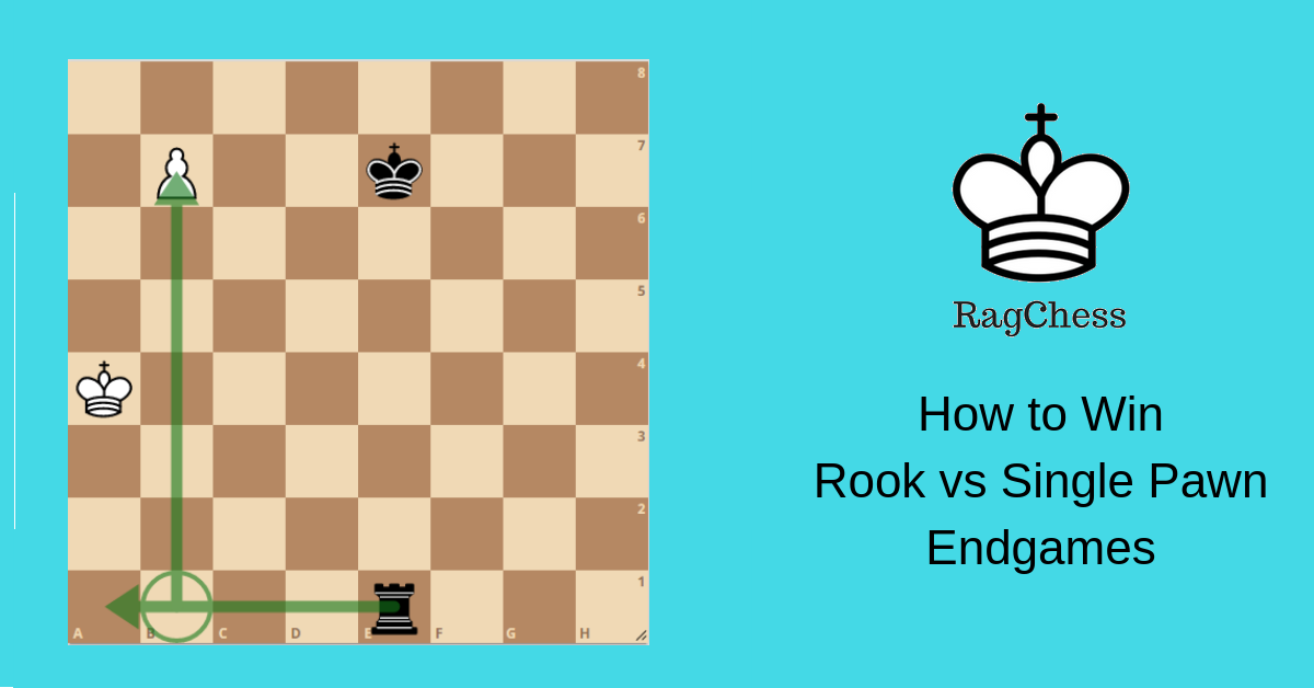How to Win Rook vs Single Pawn Endgames