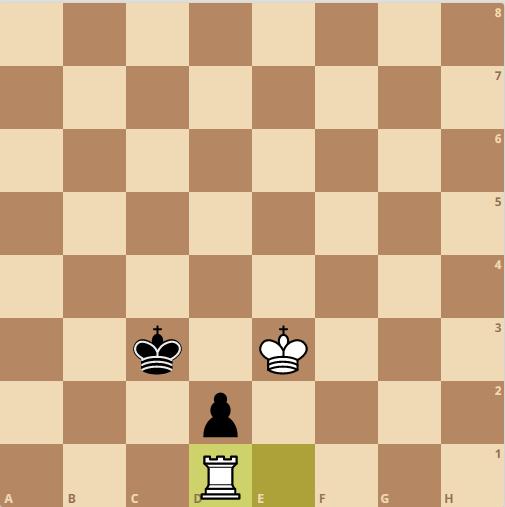 rook vs pawn