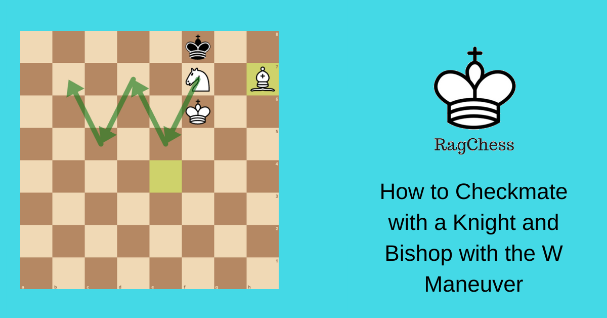 How to Checkmate with a Knight and Bishop with the W Maneuver