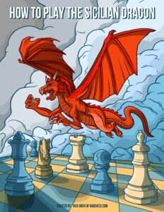 How to play the sicilian dragon ebook cover